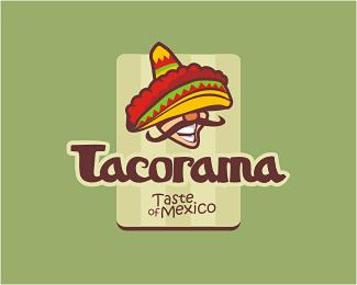 Logo knajpy meksykańskiej